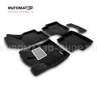 Текстильные 3D коврики Euromat3D Lux в салон для Volkswagen Passat B8 (2016-) № EM3D-004510